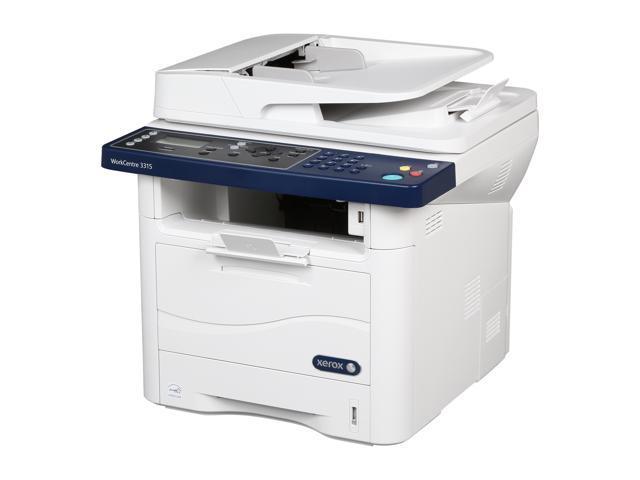 Xerox WorkCentre 3315/DN Mono Duplex Multifunction Laser Printer -  Newegg com