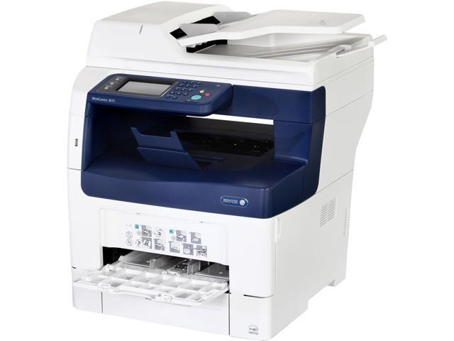 Xerox WorkCentre 3615/DN Monochrome Multifunction Laser Printer - Newegg com