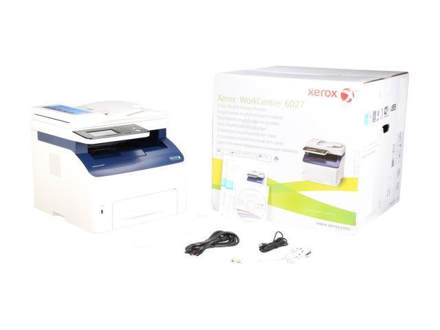 Xerox WorkCentre 6027/NI Wireless Multi-function Color Laser Printer -  Newegg com