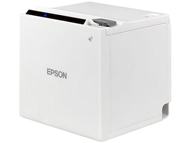 Epson TM-m30 Single-station Thermal Receipt Printer, USB + Ethernet, White  - C31CE95021 - Newegg com