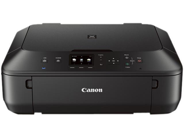 Canon Pixma Mg5520 Wireless Photo All In One Inkjet Printer Black Newegg Com
