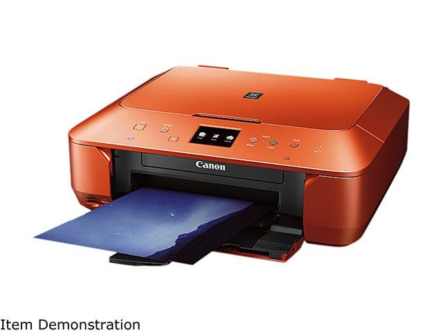Canon Pixma Mg6620 Wireless Photo All In One Inkjet Printer Orange