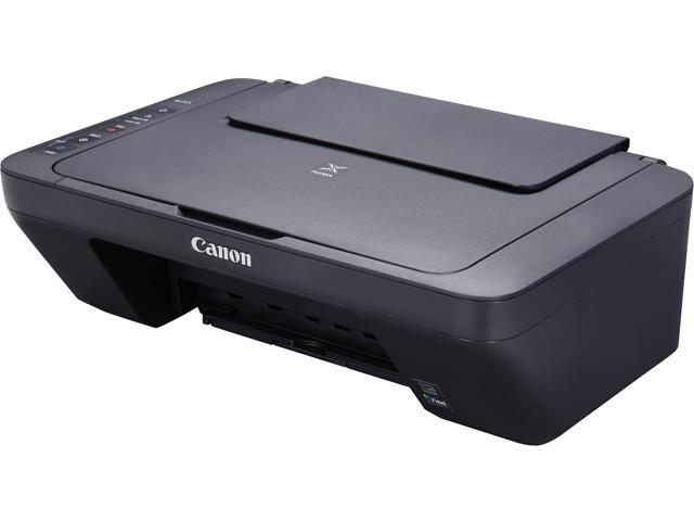 Canon Pixma Mg2525 0727c002 4800 Dpi X 600 Dpi Usb Color Inkjet All In One Printer Neweggcom