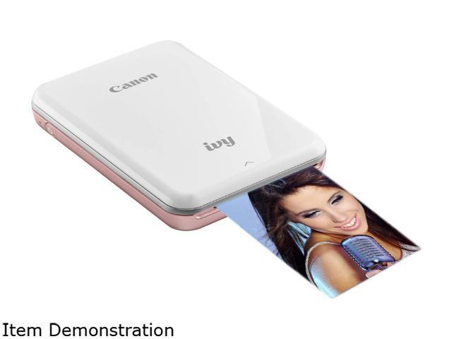 Canon 3204C001 IVY Wireless Bluetooth Mobile Portable Mini Photo Printer,