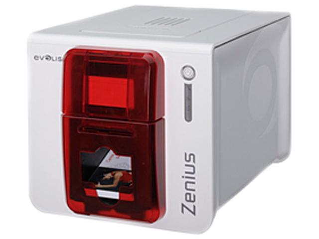 evolis zn1u0000rs zenius classic card printer without options