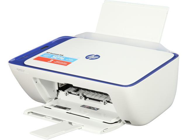 HP DeskJet 2655 (V1N01A) Wireless All-In-One Color Inkjet Printer - Blue -  Newegg com