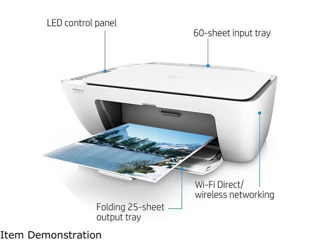 e515e25cb2e HP DeskJet 2655 (V1N04A) Wireless All-In-One Color Inkjet Printer ...