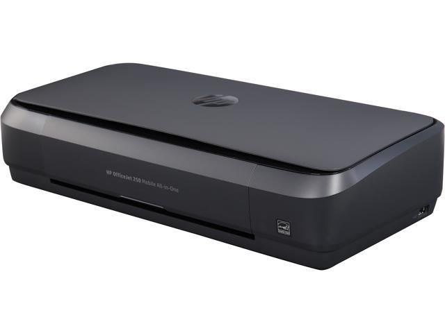 HP OfficeJet 250 (CZ992A) All-In-One Duplex Wireless Mobile Portable Color  Inkjet Printer - Newegg com