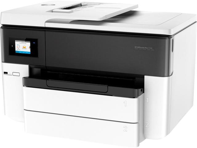HP OfficeJet Pro 7740 Wide Format All-in-One Printer with Wireless & Mobile  Printing (G5J38A) - Newegg com