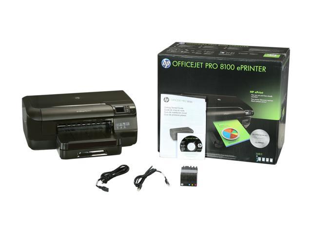 HP Officejet Pro 8100 Up to 20 ppm Black Print Speed 4800 x 1200 dpi Color  Print Quality 802 11n Thermal Inkjet Mobile Color Printer