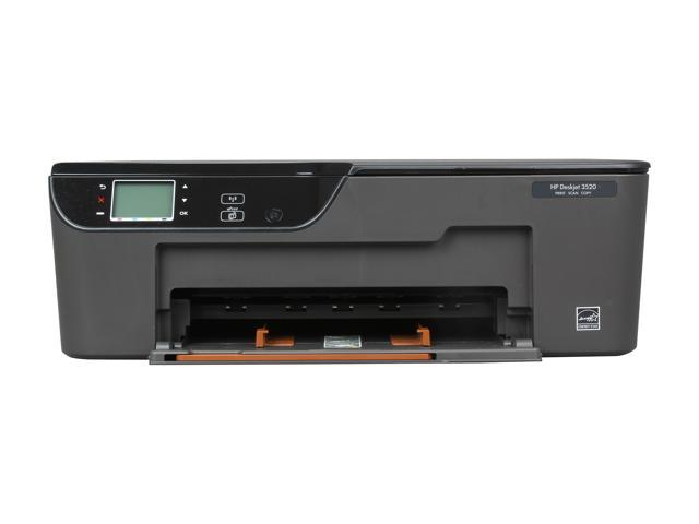 HP Deskjet 3520 Up to 23 ppm Black Print Speed 4800 x 1200 dpi Color Print  Quality Wireless Thermal Inkjet MFC / All-In-One Color Printer - Newegg com