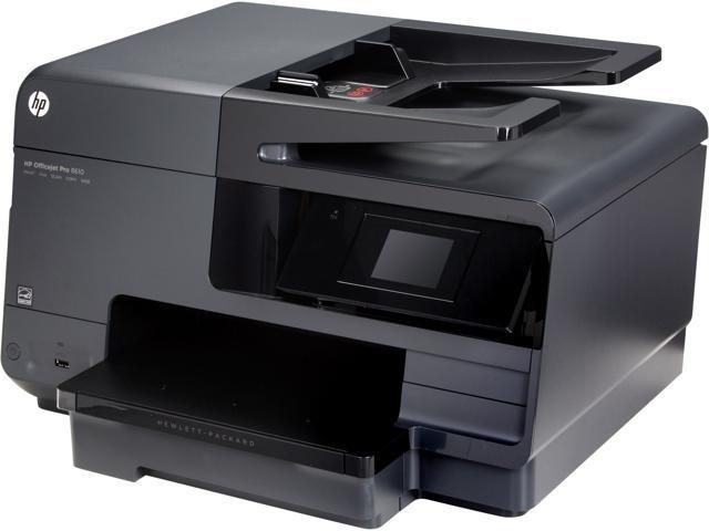 Used - Like New: HP Officejet Pro 8610 (A7F64A) Duplex 4800 dpi x 1200 dpi  USB / Ethernet / Wireless Color Thermal Inkjet MFC Printer - Newegg com