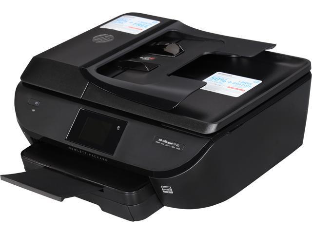 HP Officejet 5740 ( B9S76A#B1H) Duplex 4800 x 1200 dpi USB/Wireless Color  Inkjet All-In-One Printer - Newegg com