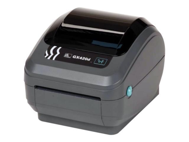 Zebra GX420D Thermal Label Printer GX42-202410-000 Barcodes POS USB Ethernet