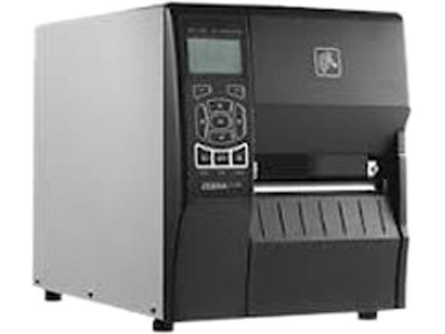 """Zebra ZT230 4"""" Industrial Thermal Transfer Label Printer, LCD, 203 dpi,  Serial, USB, ZebraNet n Print Server (US & CAN), ZPL, EPL, XML Support, US"""