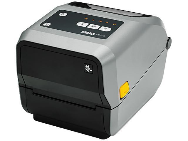 Zebra ZD620 Series Desktop Thermal Transfer Printer, Icon, 300 dpi, USB,  USB Host, Serial, Ethernet, Bluetooth LE, Standard EZPL - ZD62143-T01F00EZ  -