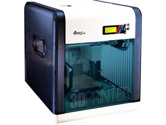 XYZprinting da Vinci 2 0 Duo FFF (Fused Filament Fabrication) ABS/PLA Dual  Nozzle 3D Printer - Newegg com