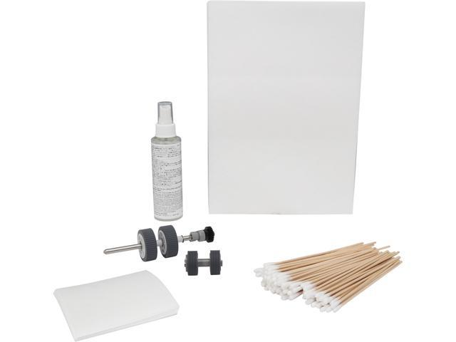 Fujitsu CG01000-277701 Scansnap IX500 Scanaid Clean/Consumable Kit with  roller set, cleaning swabs, cleaning paper, f1 cleaner, scanaid sleeve and