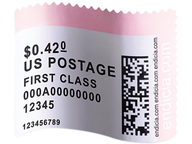 DYMO LabelWriter Postage Stamp Labels, 1-5/8 x 1-1/4, White, 200/RL -  Newegg com