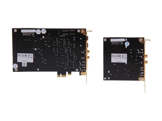 Creative Sound Blaster ZxR PCIe 124dB SNR Sound Card with 600ohm Headphone  Amp and Desktop Audio Control Module - Newegg com