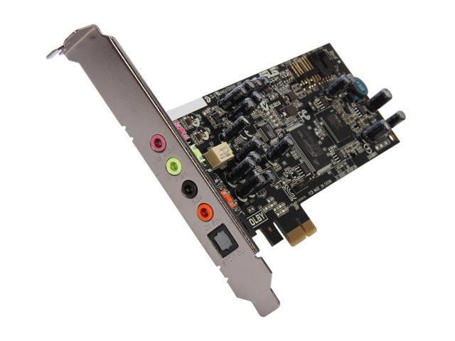 Asus xonar dgx pci express 5. 1-channel gaming audio card 5. 1.
