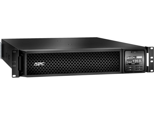 APC SRT3000RMXLA-NC Smart UPS 3000 VA UPS with Network Card - Newegg com