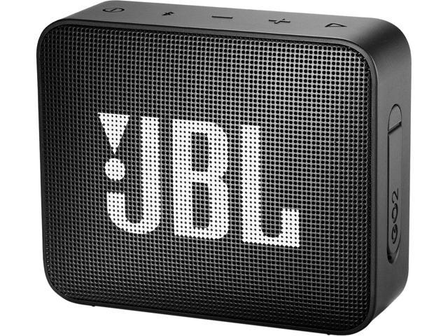 JBL GO 2 Portable Bluetooth Waterproof Speaker (Black) - Newegg com