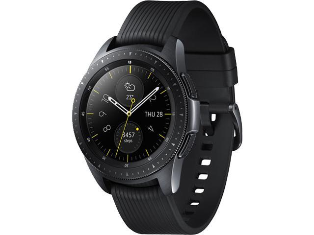 Samsung Galaxy Watch 42mm LTE Smartwatch with Heart Rate Monitor - Black