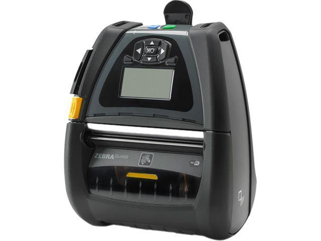Zebra QN4-AUCA0M00-00 QLn420 4-inch Mobile Label Printer - Newegg com