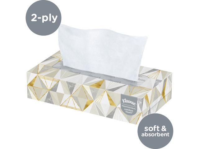 Details about  / Professional Facial Tissue for Business Flat Tissue Boxes 12 Boxes