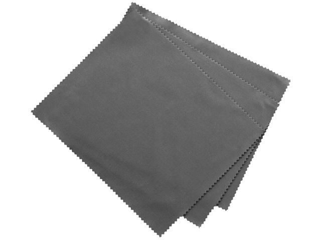 "Innovera 51506 Microfiber Cleaning Cloths, 6"" x 7"", Grey, 3/Pack"