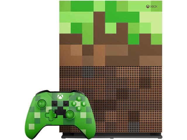 Xbox One S 1TB Console - Minecraft Limited Edition Bundle - Newegg ca