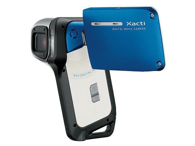 sanyo xacti vpc e2 blue 8 0 mp 1 2 5 cmos 2 5 150k lcd 5x optical rh newegg com