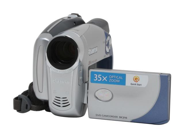 CANON CAMCORDER DC210 DOWNLOAD DRIVERS