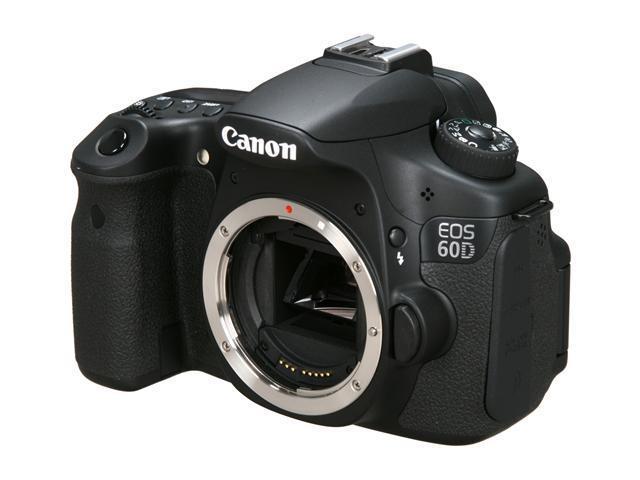 Canon EOS 60D 4460B003 Black 18.0 MP Digital SLR Camera - Body Only ...