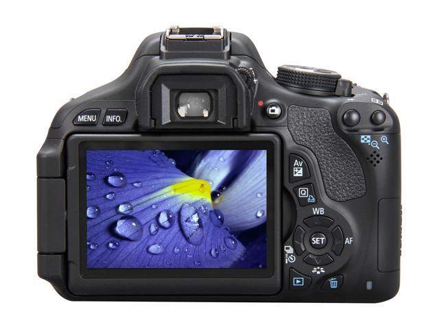 Canon EOS REBEL T3i 5169B003 Black 18 0 MP Digital SLR Camera with 18-55mm  IS II Lens - Newegg com