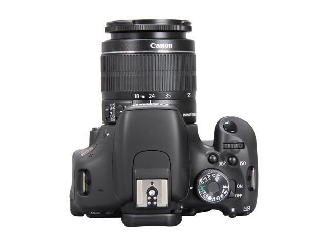 Canon EOS REBEL T3i 5169B003 Black 18 0 MP Digital SLR Camera with 18-55mm  IS II Lens - Newegg com