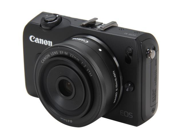 Canon EOS M Black 18 MP Compact