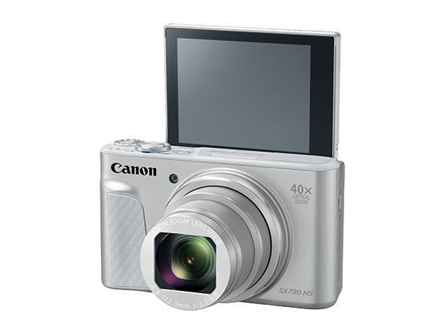 Canon SX730 HS Silver 20 3 MP Digital Camera - Newegg com