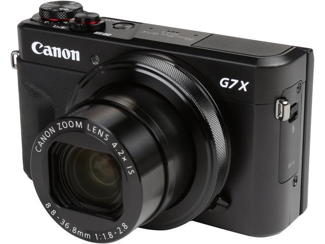 Canon PowerShot G7 X Mark II Digital Camera - Newegg com