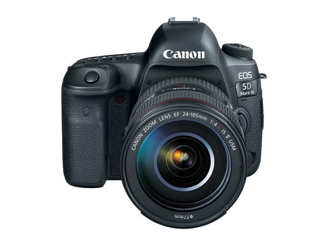 Canon 1483C010 EOS 5D Mark IV DSLR Camera with 24-105mm f/4L II Lens -  Newegg com