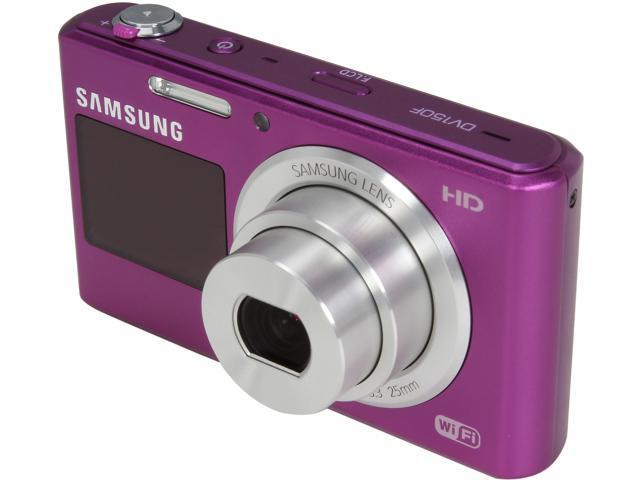 samsung dv150f purple 16 2mp 5x optical zoom digital camera hdtv rh newegg com Samsung 14 Megapixel Digital Camera Samsung Digital Camera Purple