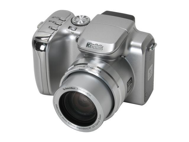 Kodak EasyShare Z612 Silver 6 1 MP 12X Optical Zoom Digital Camera -  Newegg com