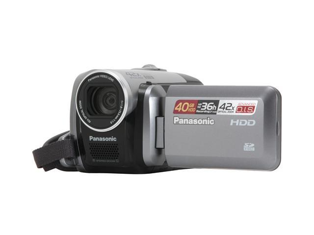 panasonic sdr h40 black silver 2 7 lcd 42x variable speed zoom 40gb rh newegg ca Panasonic SDR- S7 Panasonic SDR- H60