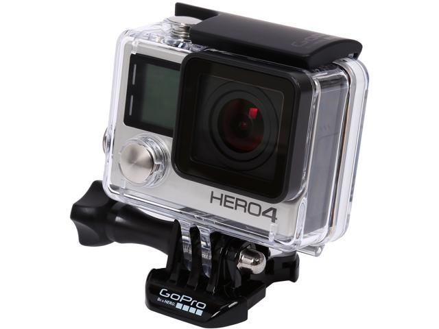 GoPro HERO4 CHDHY-401 Silver 12 MP Action Camera
