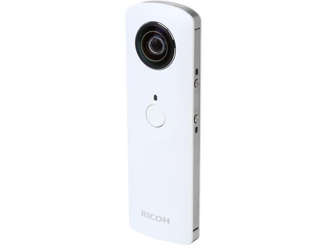 Ricoh THETA M15 White Digital Camera - Newegg com
