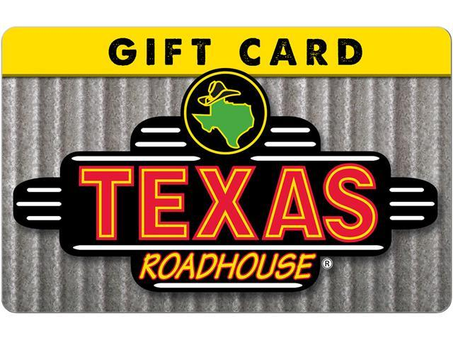 $50 Gift Cards Texas Roadhouse + $10 GC