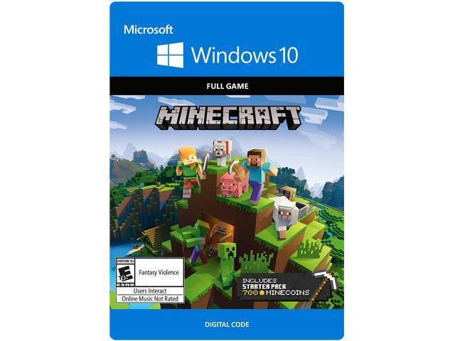 Minecraft Windows 10 Starter Collection [Digital Code] - Newegg com