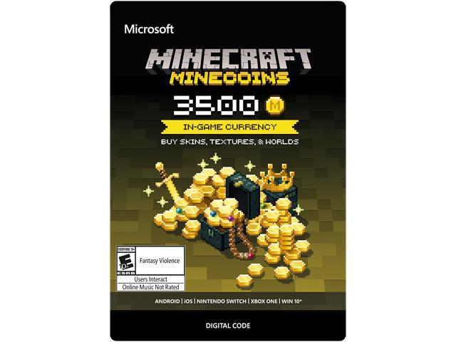 Xbox Minecraft Minecoins 3500 Coin In Game Currency Digital Code