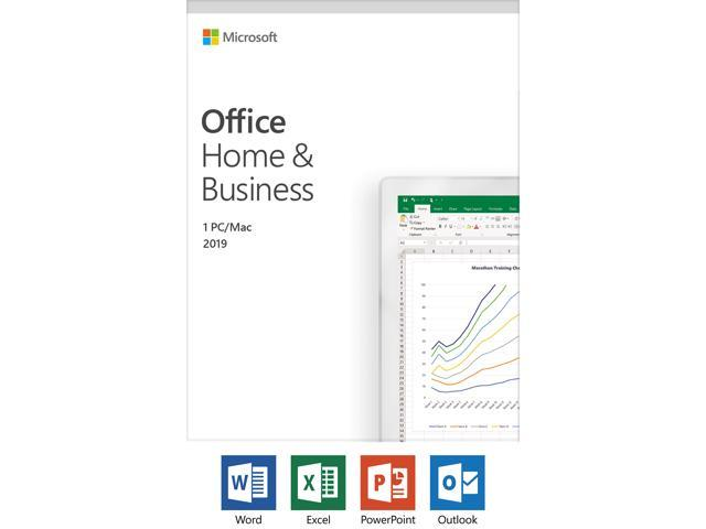 Microsoft Office Home and Business 2019 | 1 device, Windows 10 PC/Mac Key  Card - Newegg com